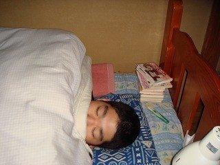趣味?寝ることかな…